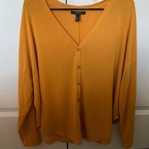 Yellow Button-up Long Sleeve